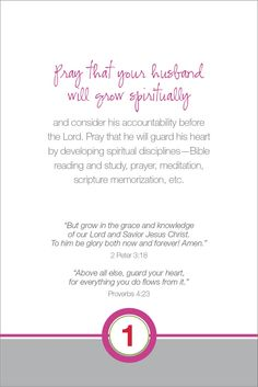 Little Thoughts by LT: Praying For Your Husband - ALL