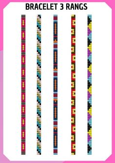 Loom Bracelet Patterns, Seed Bead Patterns, Bead Loom Bracelets, Woven Bracelets, Beading Patterns, Bead Embroidery Jewelry, Beaded Jewelry Patterns, Embroidery Bracelets, Bead Loom Designs