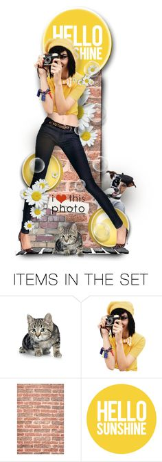 """Smile ! I´m Capturing You :)"" by mari-777 ❤ liked on Polyvore featuring art"