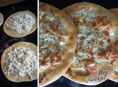 Hezké pudinkové hradby | NejRecept.cz Ham, Pancakes, Bakery, Tacos, Pizza, Bread, Smoothie, Breakfast, Ethnic Recipes