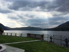 Even in this cloudy day Lake Como is simply spectacular! www.castadivaresort.com  #Luxury #Travel #Italy