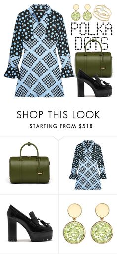 """Polka Dots 4198"" by boxthoughts ❤ liked on Polyvore featuring MCM, House of Holland, Mulberry, Kiki mcdonough and Tai"