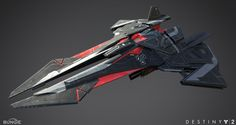 ArtStation - Destiny exotic ship-The platinum starling, Kan Xie Space Ship Concept Art, Concept Ships, Weapon Concept Art, Spaceship Art, Spaceship Design, Arte Robot, Robot Art, Stargate, Mandalorian Ships