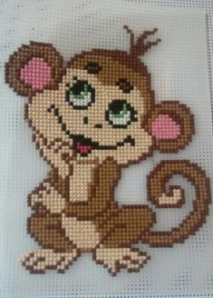 This Pin was discovered by Nis Beading Patterns, Embroidery Patterns, Knitting Patterns, Crochet Patterns, Cross Stitch Baby, Cross Stitch Animals, Plastic Canvas Crafts, Plastic Canvas Patterns, Cross Stitch Designs