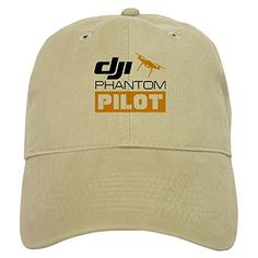CafePress - DJI PHANTOM PILOT - Baseball Cap with Adjustable Closure, Unique Printed Baseball Hat * Read more reviews of the product by visiting the link on the image.
