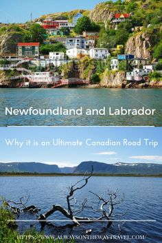 Newfoundland and Labrador is a very expensive to visit, but this Canada's easternmost province is your ultimate road trip and it offers the most beautiful landscapes than you could possibly imagine. East Coast Road Trip, Us Road Trip, Road Trip Hacks, The Road, Banff, Rocky Mountains, Calgary, Vancouver, Newfoundland And Labrador