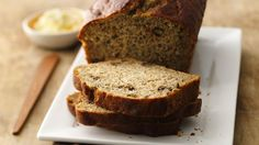 You'll be delighted when you bite into this moist low-fat banana bread made with yogurt!