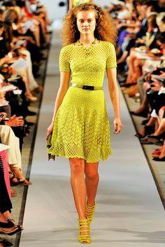 Lindo este vestido de croché!