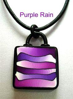 Purple Rain Pendant