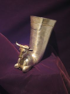 Thracian Art  Silver thracian rhyton