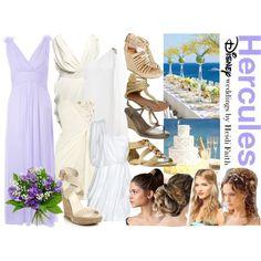 """Disney's Hercules Wedding"" by heidifaith on Polyvore"