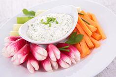 Recette healthy : crudités-tatziki