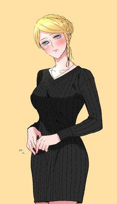 Kawaii Anime Girl, Anime Girls, Gender Bender Anime, Black Clover Manga, Character Design Animation, Black Cover, Cute Anime Wallpaper, My Hero Academia Manga, Anime Demon