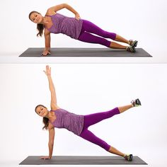 Plank Variation Exercises Photo 6
