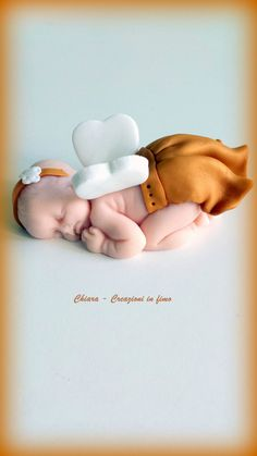 #bomboniere #nascita #battesimo #handmade #neonato #fimo #angioletto #personalizzabile per info contattatemi grazie!