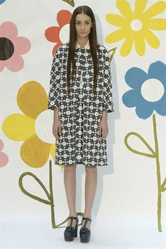 London Fashion Week Day 2 Orla Kiely Spring/Summer 2015 Ready to wear  13 September 2014