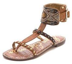 Sam Edelman Gabrianna Ankle Cuff #Sandals