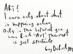Guy Debord, 1994