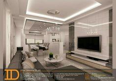 Tv Unit Design, Tv Wall Design, Interior Design Living Room, Living Room Designs, Tv Feature Wall, Living Room Tv Unit, Home Ceiling, Luxury House Plans, Tv Storage