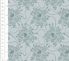 Ginger Lily Studio Expressions: AS0100 cw02 Small Flowers, Chevron, Lily, African, Tapestry, Studio, Fabric, Collection, Design