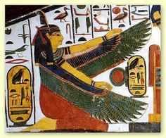 Maat - Goddess of the Feather of Truth, wisdom