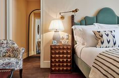 A place in the sun: Soho House arrive on Catalan shores with their creatives-only members casa Soho House Barcelona. Beautiful Bedrooms, House, Interior, Soho House Barcelona, Soho Farmhouse Interiors, Home, Home Bedroom, House Interior, Soho Style