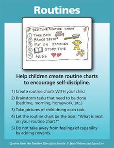 Positive Discipline: Routines