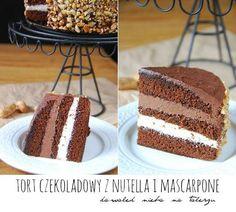 Nutella, Vanilla Cake, Tiramisu, Baron, Cooking, Ethnic Recipes, Mascarpone, Kitchen, Tiramisu Cake