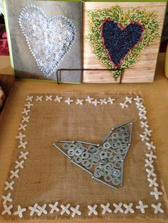 Loose parts created by children preschool children, inspired by Monday Hearts for Madeline. Reggio Inspired Classrooms, Reggio Classroom, Learning Centers, Early Learning, Emergent Curriculum, Creative Area, Valentines Day Activities, Reggio Emilia, The Elf