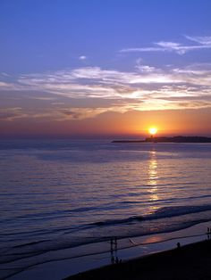 Beautiful sunset at one of the great beaches, Conil de la Frontera (Cadiz, Andalucía, Spain) http://www.costatropicalevents.com/en/costa-tropical-events/andalusia/welcome.html