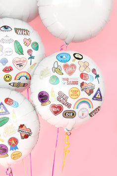 DIY Flair Temporary Tattoo Balloons