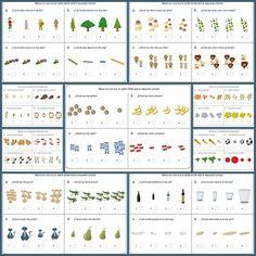 Conceptos básicos:Fichas de infantil y primaria Hoy trabajamos conceptos básicos en infantil y primaria, trabajamos el mayor, el más pequeño, conceptos b