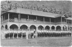 Fita Fita barracks. It is now the Police Department in American Samoa.