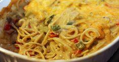 Chicken Spaghetti Casserole - 8 Smartpoints - weight watchers recipes