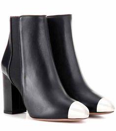 Nova 85 leather ankle boots | Aquazzura