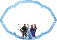 Montando a minha festa: Plaquinhas divertidas Frozen