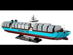 LEGO Designer Video: 10241 Maersk Line Triple-E - YouTube