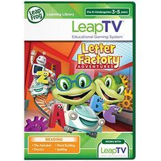 LeapFrog LeapTV Letter Factory Adventures Educational Active Video Game ** Check out the image by visiting the link. Note:It is Affiliate Link to Amazon.