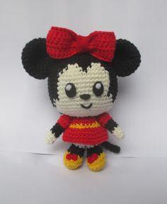 Craft Lotus: Amigurumi cute Micky and Minnie Mouse
