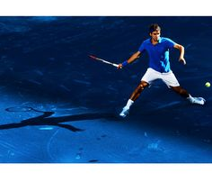 Madrid Open - Federer defeats Berdych and overtakes Nadal for No. 2 world ranking Roger Federer, Wimbledon, Madrid, Tennis, Sports, Number 2, June, Games, Hs Sports