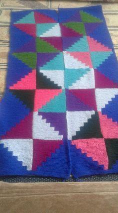 Crochet Pillow, Crochet Blanket Patterns, Knitting Patterns, Knitted Afghans, Knitted Blankets, Filet Crochet, Knit Crochet, Square Blanket, Free Knitting