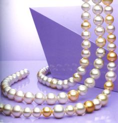 paspaley pearls, coloured