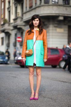 Viva Italia: Street Style From Milan - HarpersBAZAAR.com