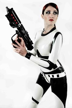 Star Wars Stormtrooper Inspired Rubber Latex by ShhhCoutureLatex, $795.00 if only I had the body ... And the money