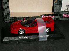 Ferrari GTO rot 1:43 Atlas Modellauto