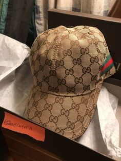 6ddb9035 Gucci Hat-Canvas Brown-Good Condition #fashion #clothing #shoes #accessories