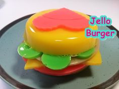 How To Make Jelly Pudding Hamburger 젤리 푸딩 햄버거 만들기 놀이 식완