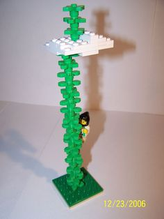 Jack and the Beanstalk Lego's... a decoration the birthday boy can make if he's old enough.