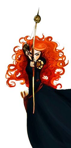 """*PRINCESS MERIDA* (Brave) QUOTE : """"If you had a chance to change your fate, would you?"""""""