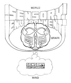 A Dualist model of how the conscious mind relates to the brain and the external world (taken from Gazzaniga & Le Doux, 1978).
